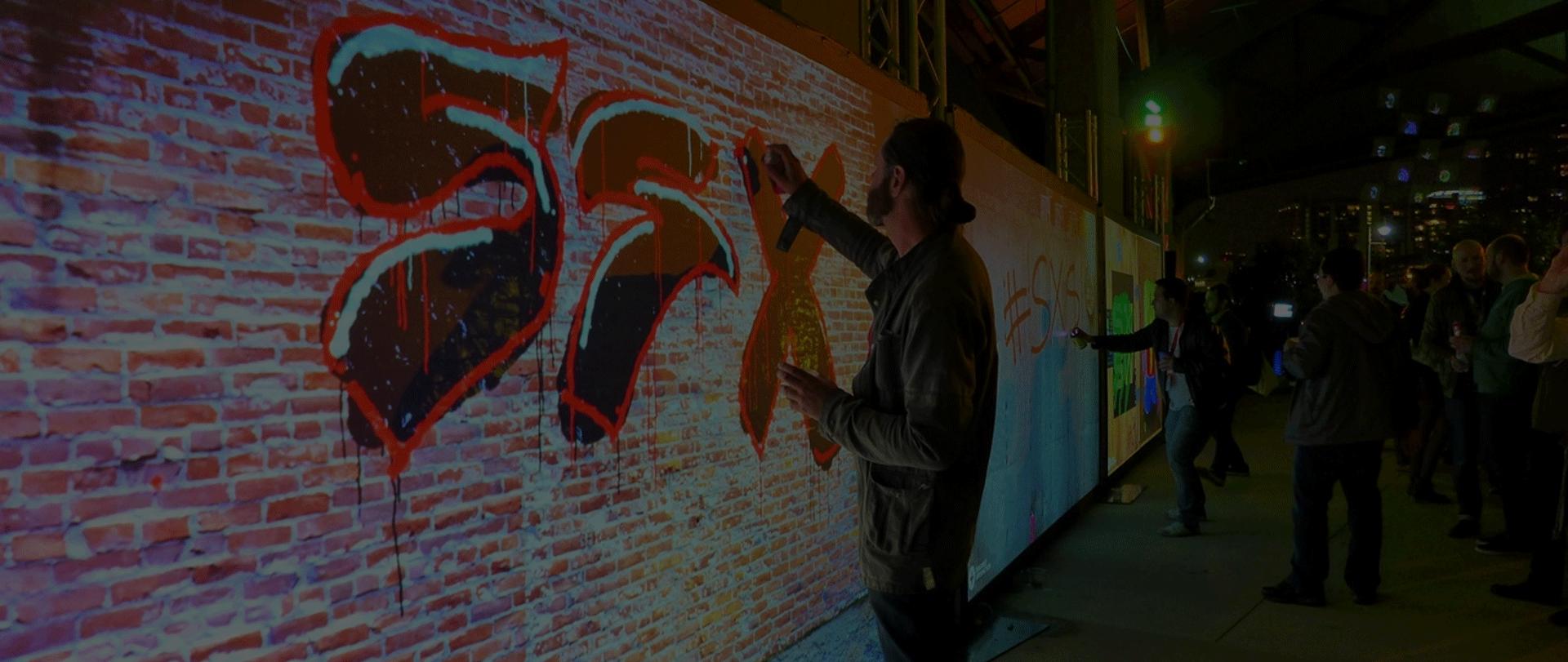 Digital wall graffiti - Digital Wall Graffiti 28